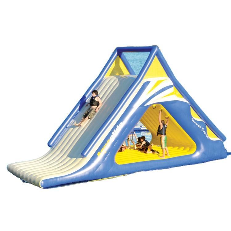 Adultinflatable pool floatingwater slide