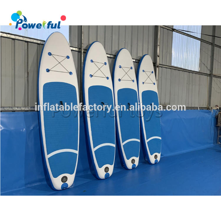 Inflatable Stand Up Paddle Board Recreational Rental Board on Water