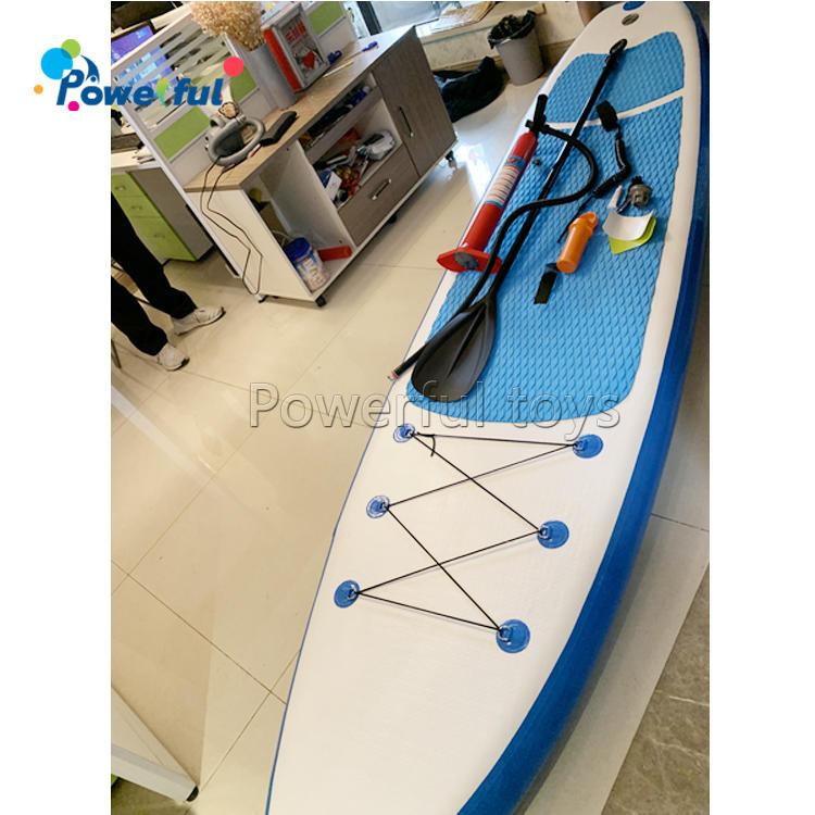 Kids inflatable standup surf board paddleboard for ocean sport