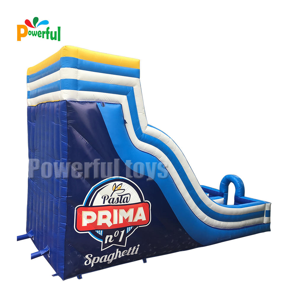 commercial inflatable water slide with doublelane inflatable slip n slide