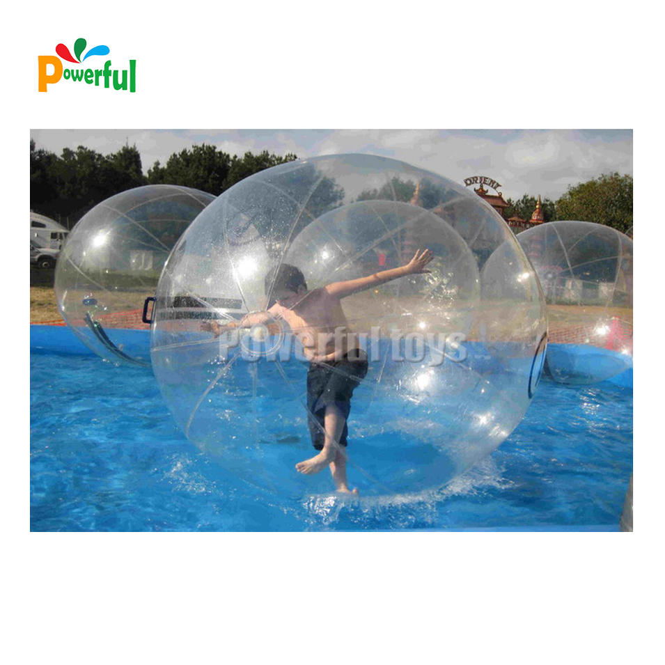 2mInflatable Walking on Water Ball for Swimming Pool Floating Human Inside Dacing Balloon Running Zorb Balls