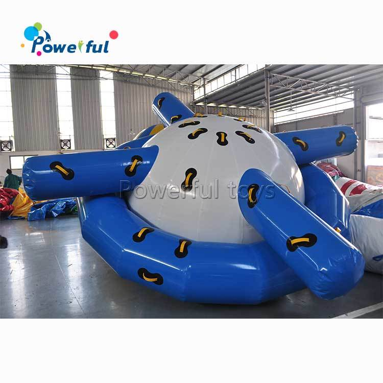Customized inflatable saturn water rockers
