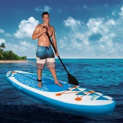 3m inflatable stand up surf paddle board surfing pad boat