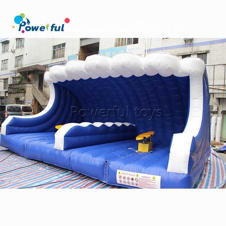Inflatable Mechanical Surf Machine Simulator Surfboard Machine Rental