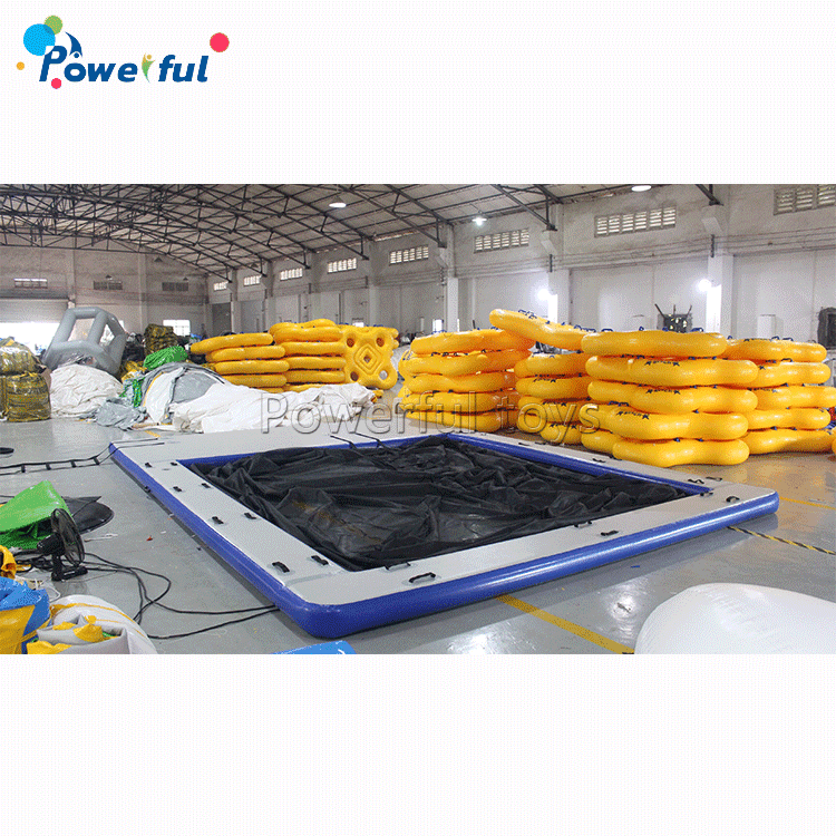7x5m Inflatable Swimming Pool Inflatable Ocean Pool Water Game Fun Entertainment Floating Pool