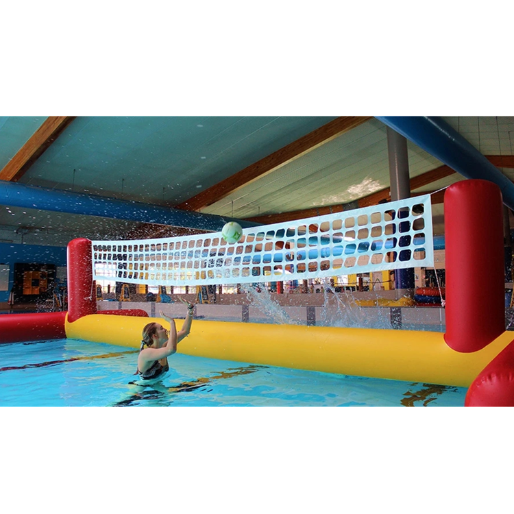 Hot sale inflatable water volleyball court for lake water games