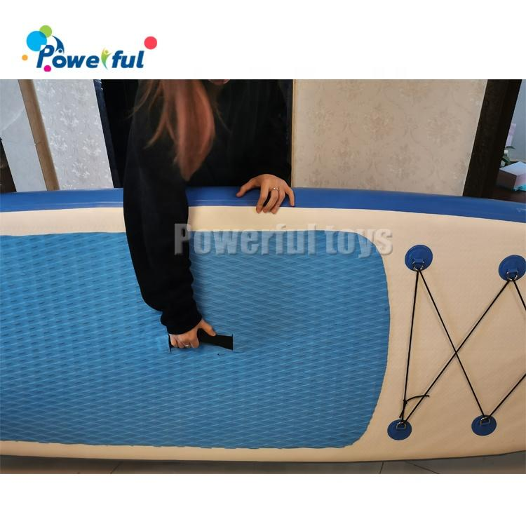 Inflatable Stand Up Paddle Board Surfing SUP Boards No Slip Deck with Free SUP Accessories & Backpack