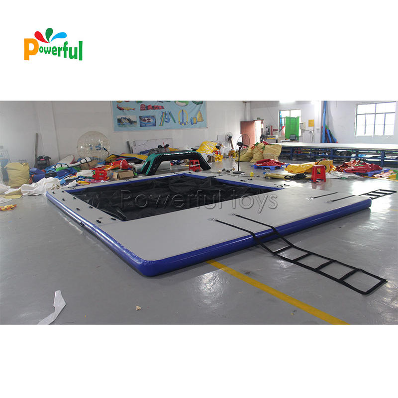 Inflatable floating sea pool size 2m height with net