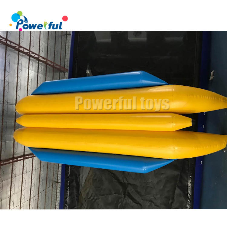 10 seats towable inflatable banana floating boatfor water sports