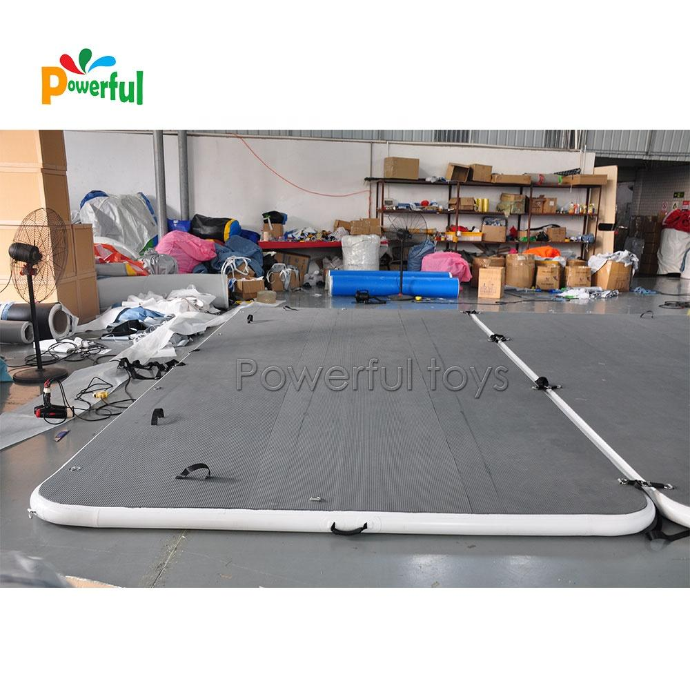 Inflatable Floating Swimming Dock Platform, Huge Leisure Inflatable Dock