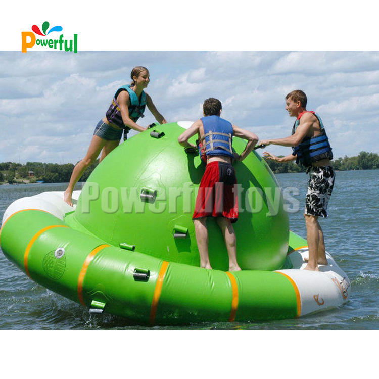 2.5m Inflatable Water Rocker for children aqua toys Inflatable Saturn rocker UFO games