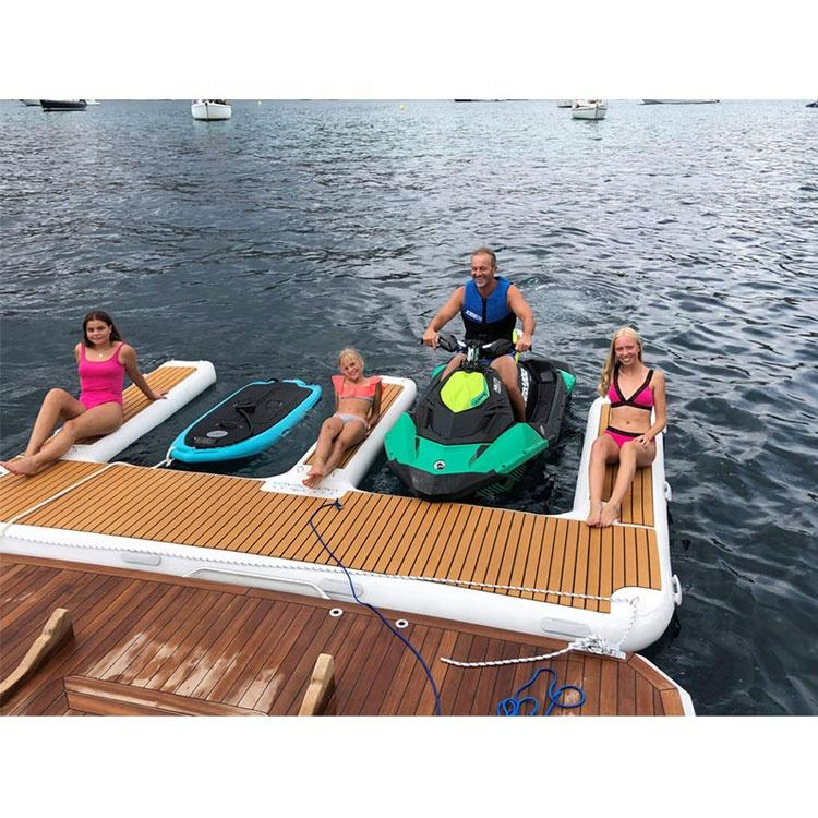 Factory priceEVA foam faux teak boat decking sheet non-skid yacht self-adhesive pad mat for sale