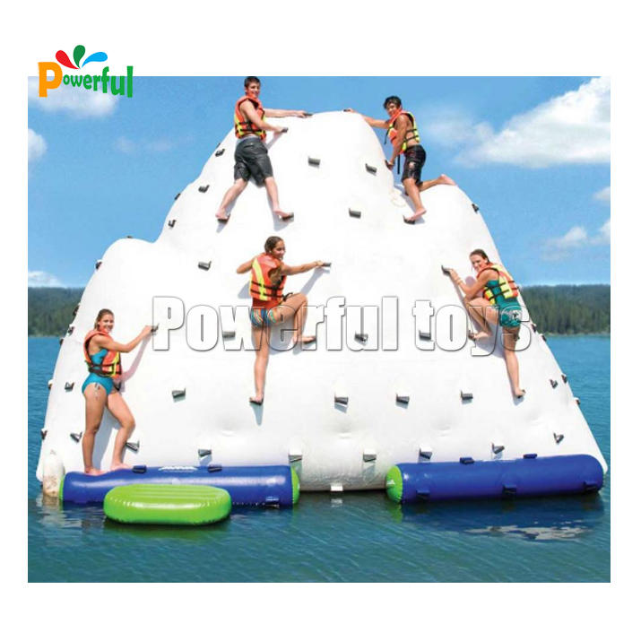 inflatable rock climbing mountain,Inflatable iceberg slide