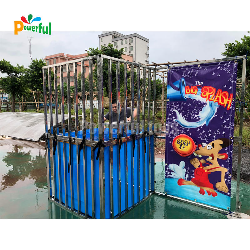 Hight qualityInflatable Dunk Tank Funny inflatable Water Games for park