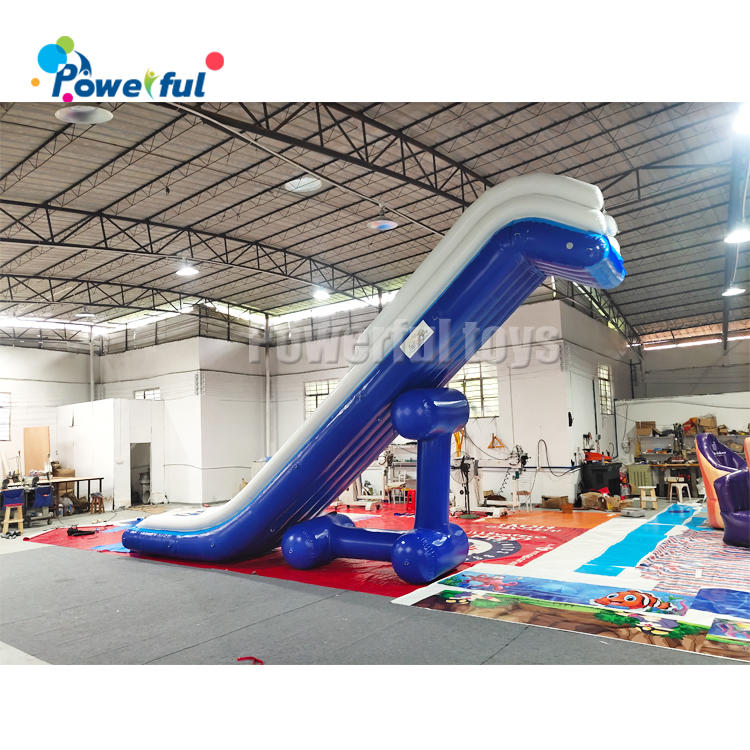 Inflatable Water Slide Boat Yacht, Inflatable Yacht Slide For Boat