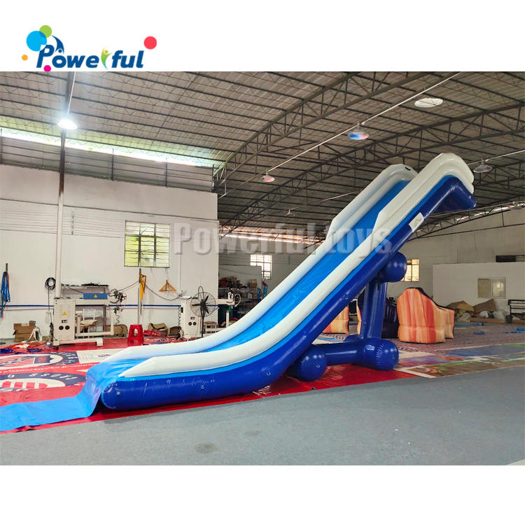 Factory price giant inflatable floating water slide