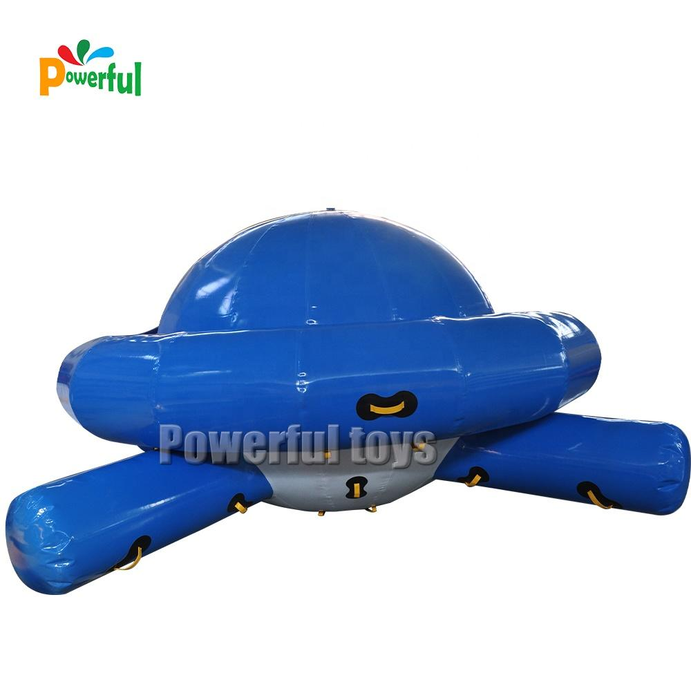 Giant inflatable water saturn water rock climbing for park