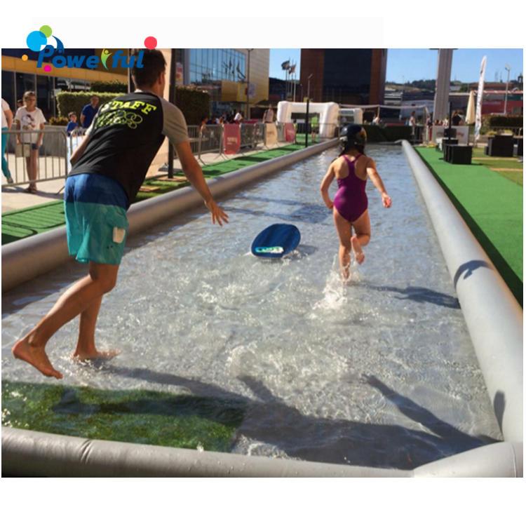 Water Sport Inflatable Skimboard Game Water pool Skimboarding Pool