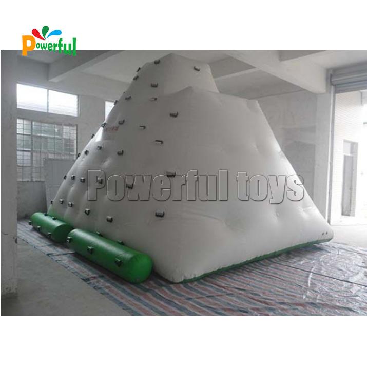 inflatable rock climbing mountain,Inflatable iceberg slide