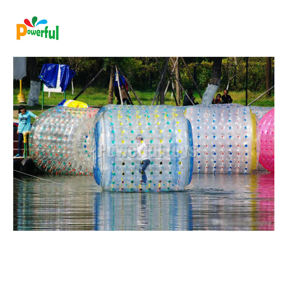 inflatable water roller inflatable roller ballfor amusement park