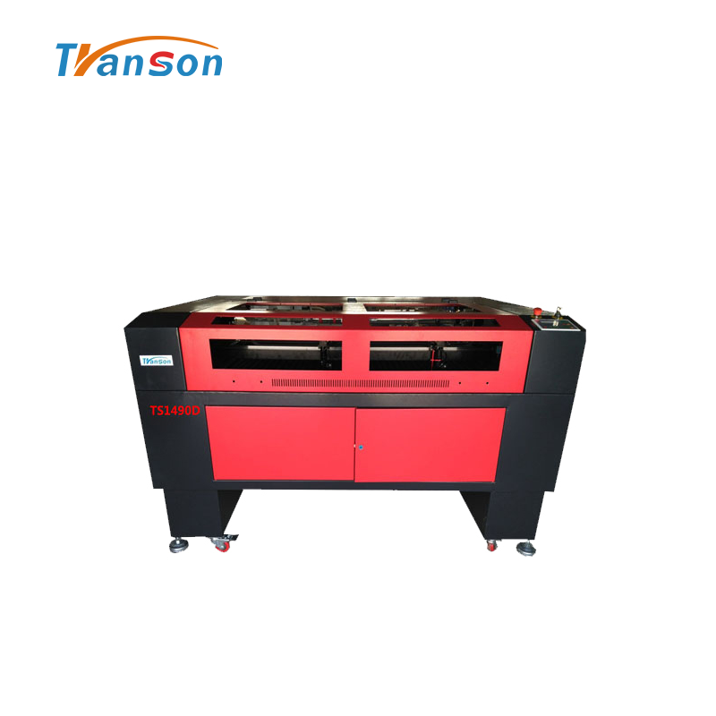 Transon brand 1490 Double Heads Laser Engraving Cutting Machine