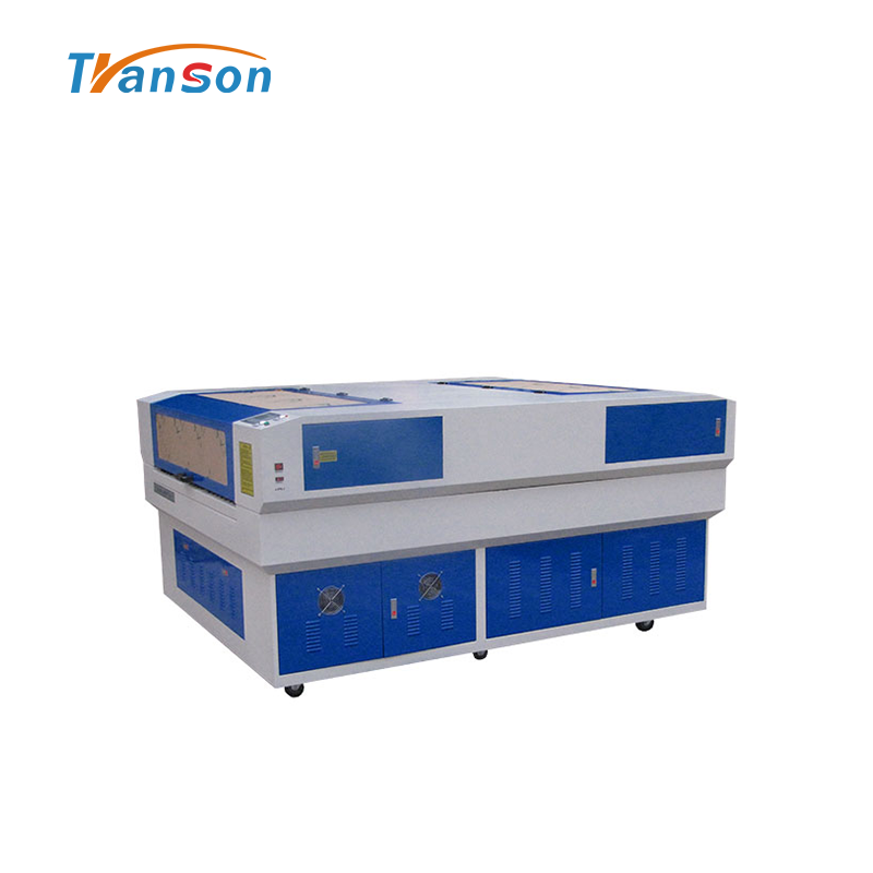 China factory TS1318 engraving and cutting laser machine used for non-metal wood paper acrylic leather plastic stone glass