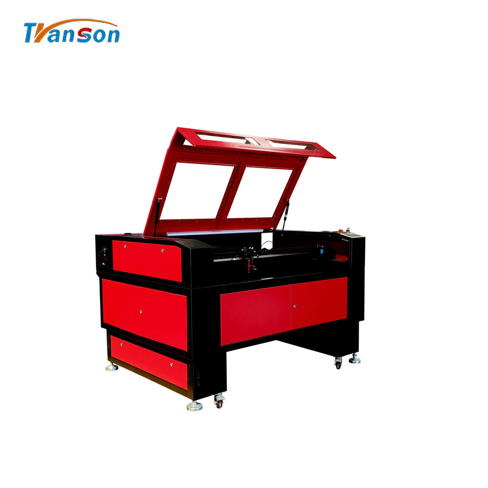 Widely used TS1290 CO2 laser cutting and engraving machine for wood paper acrylic leather