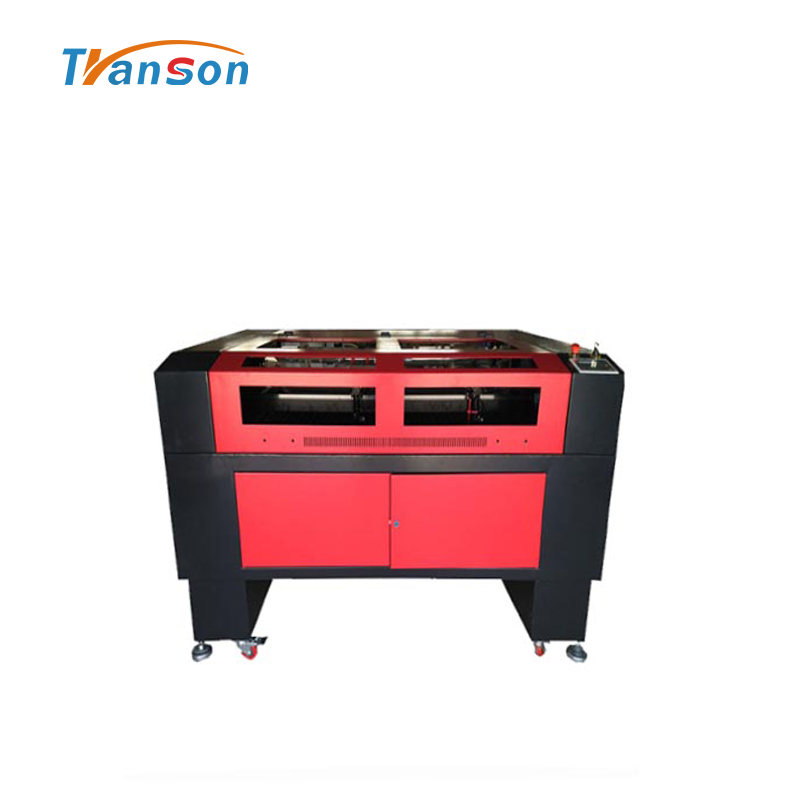 Transon brand 6090 Double Heads Laser Engraving Cutting Machine