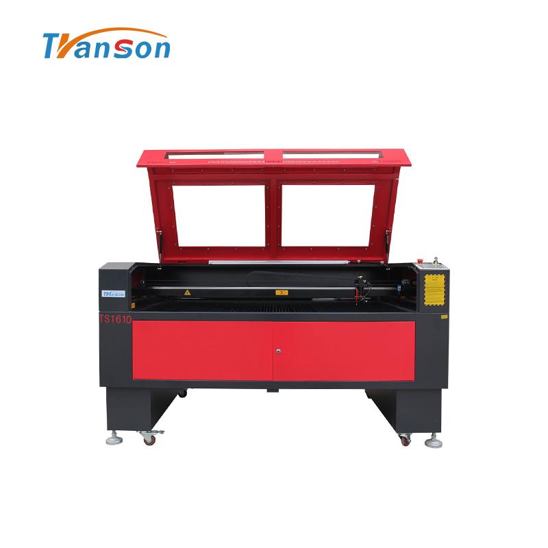 Transon brand 1610 CO2 laser engraving cutting machine