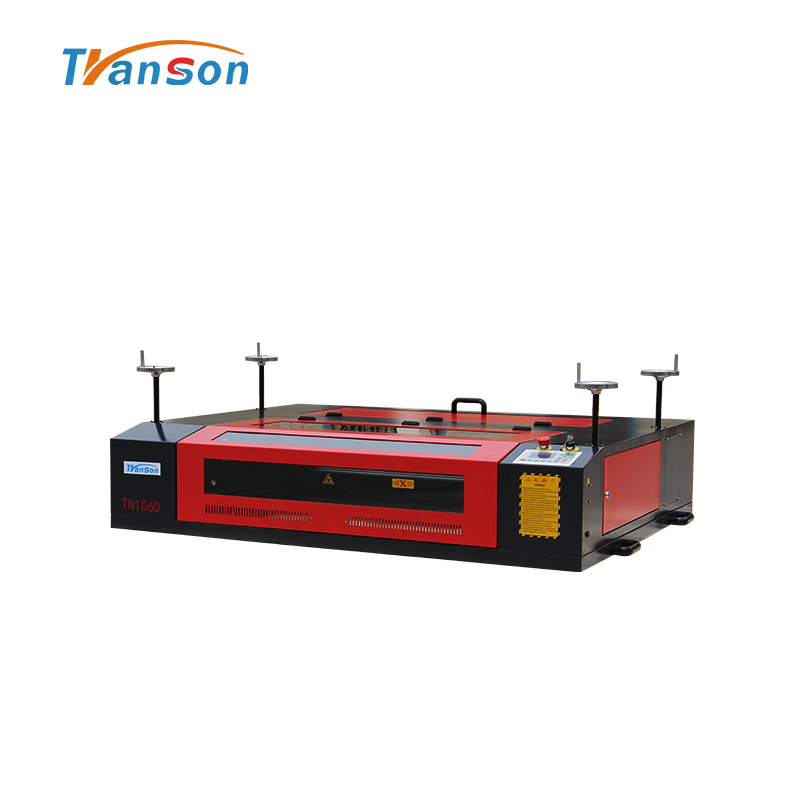 TSD1060 laser machine can engrave on heavy or big object not easy move
