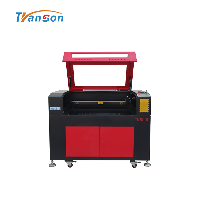 TN6090 W2 CO2 laser cutting engraving machine for non mental