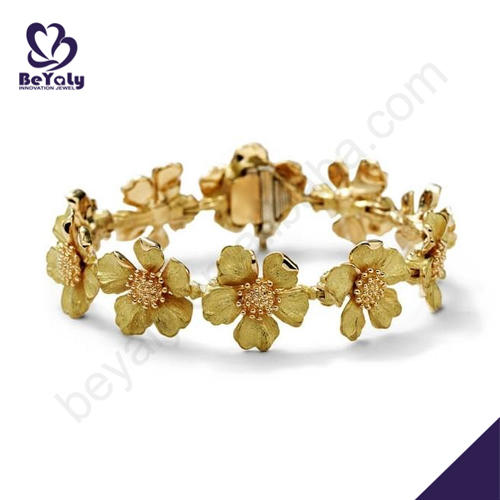 Fine quality flower chain women's bracelets