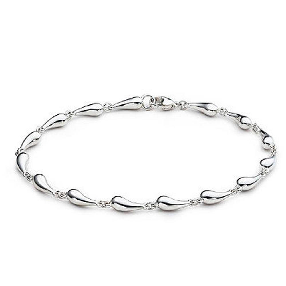 Cheap Simple Design Silver Brazaletes Pulseras Bracelets