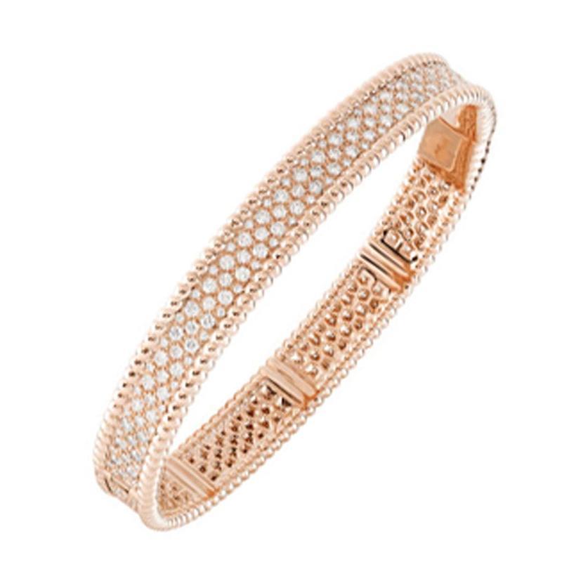 Fashion girls silver cz luxury brand jewelry