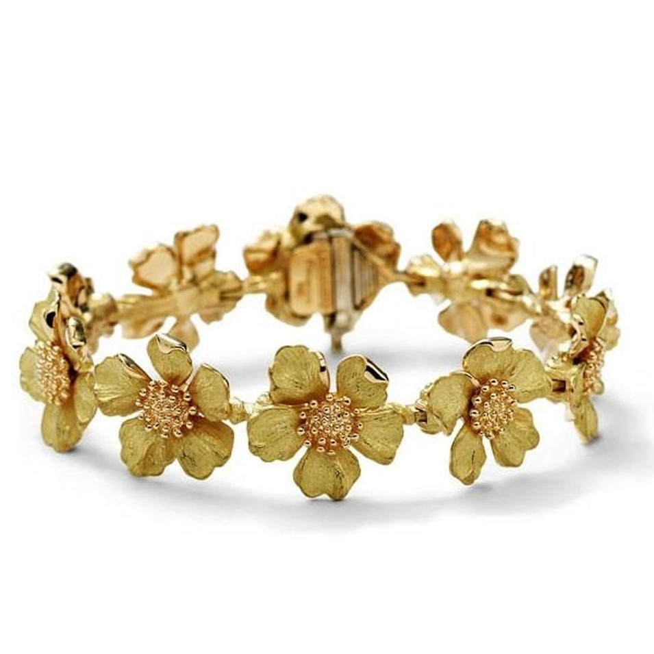 Fine quality flower chain women's bracelets