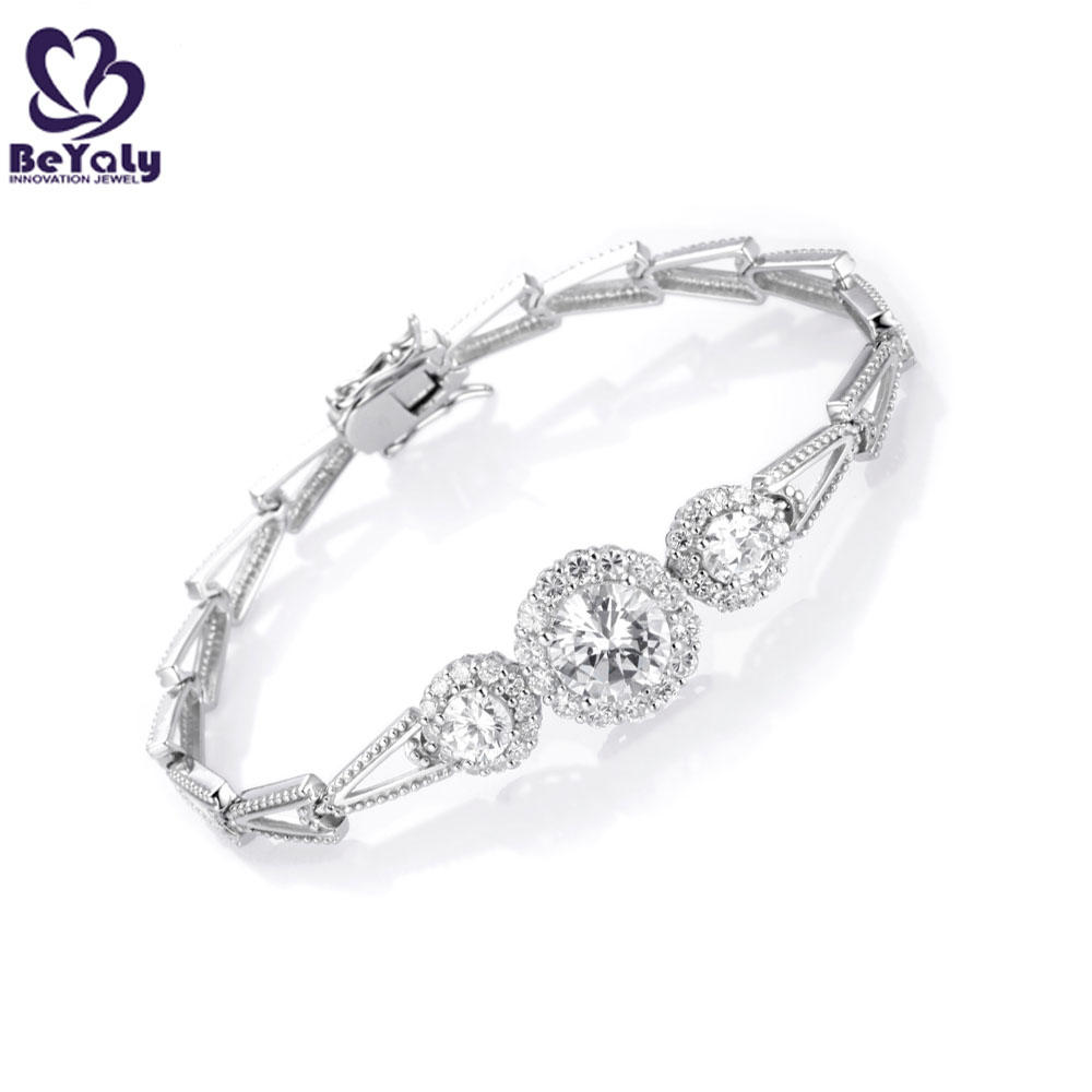 Customized Design Chic .925 Sterling Silver Jewelry Indian Ethnic Bangles