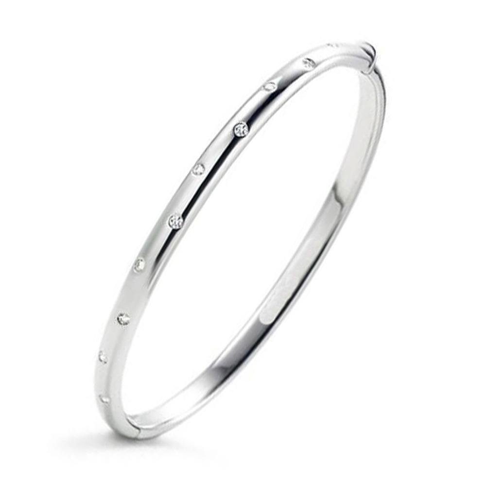 Innovation silver blank jewelry fashion bracelet 925