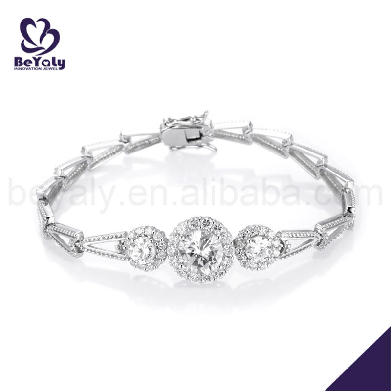 Wholesale rhodium plated trendy artificial jewellery items
