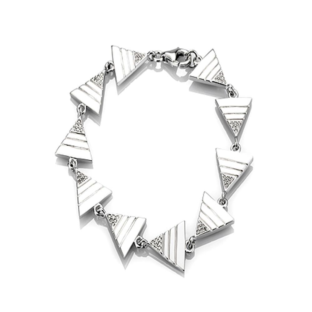 Wholesale fashion design 925 silver hand chain bracelet