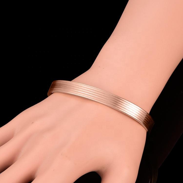 Fashion Wholesale Cheap Mens Magnetic Pure Copper Bracelet