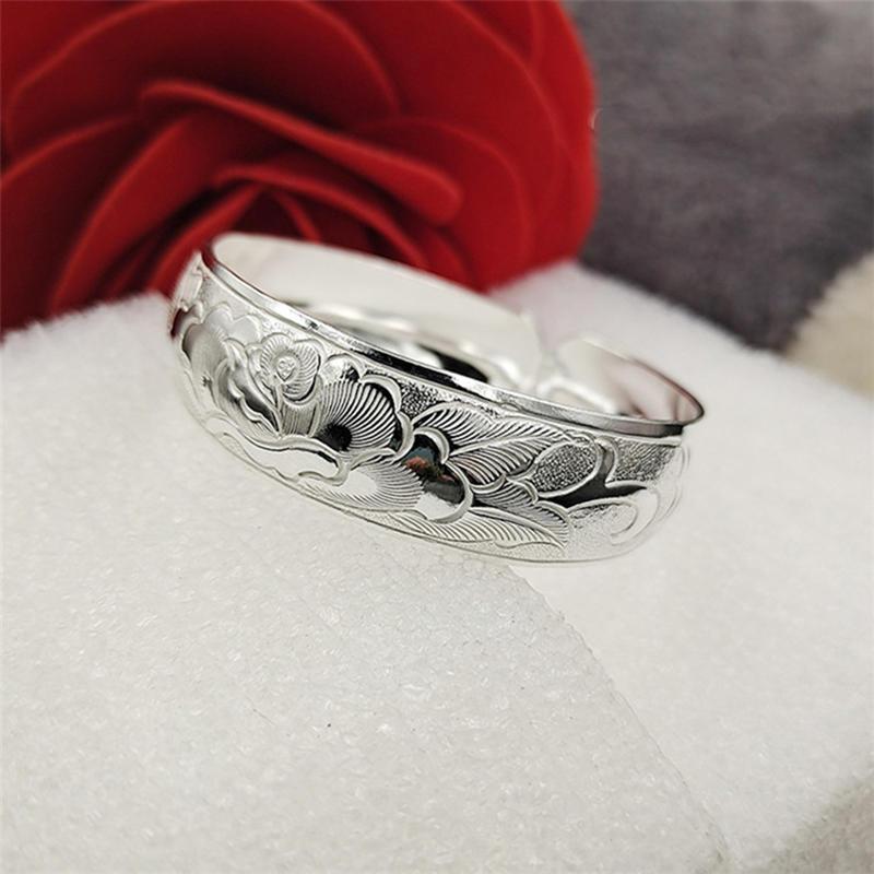 Eco-Friendly Sterling Silver 925 Costume Jewelry Cuff Bracelet