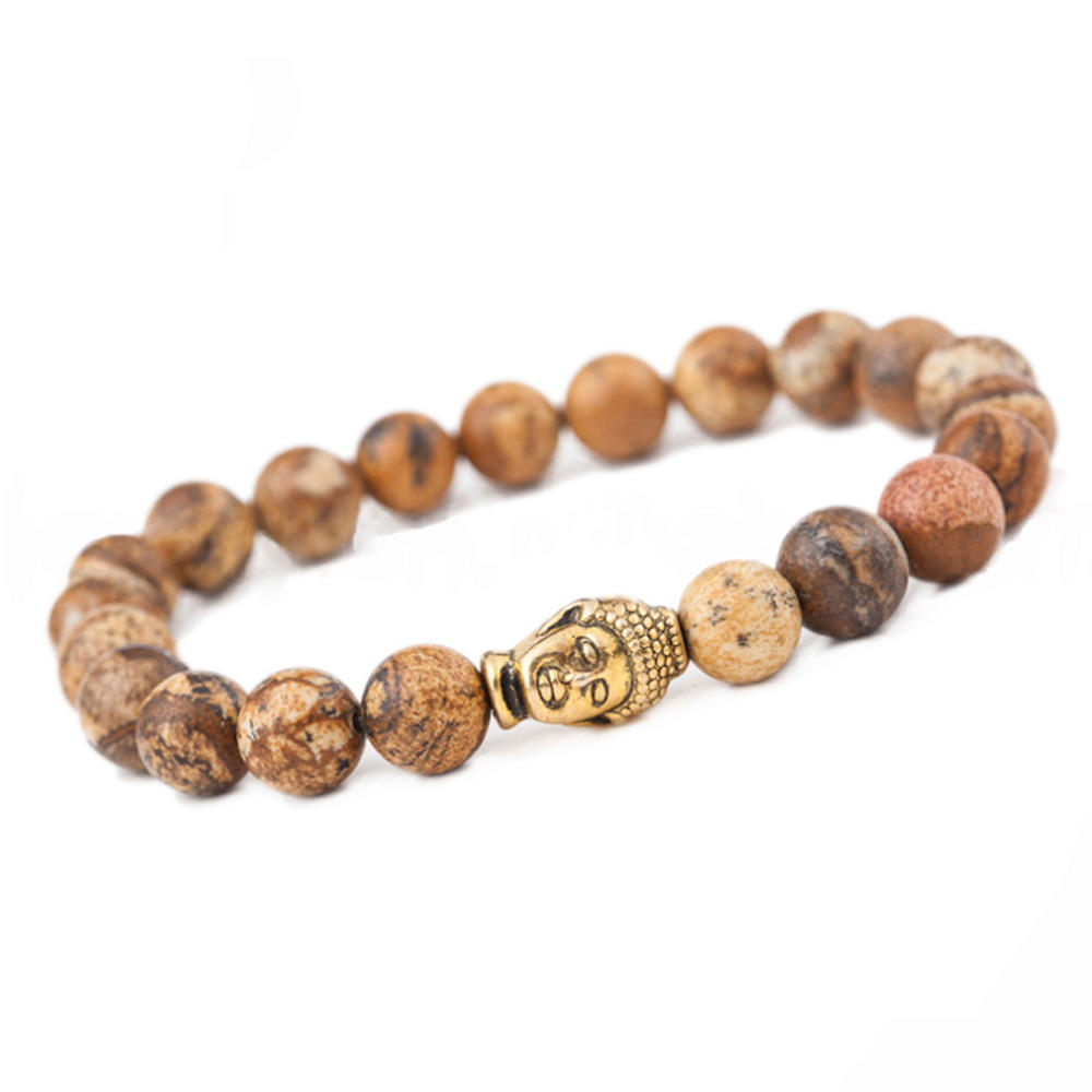 Custom simple budda indian friendship bracelets