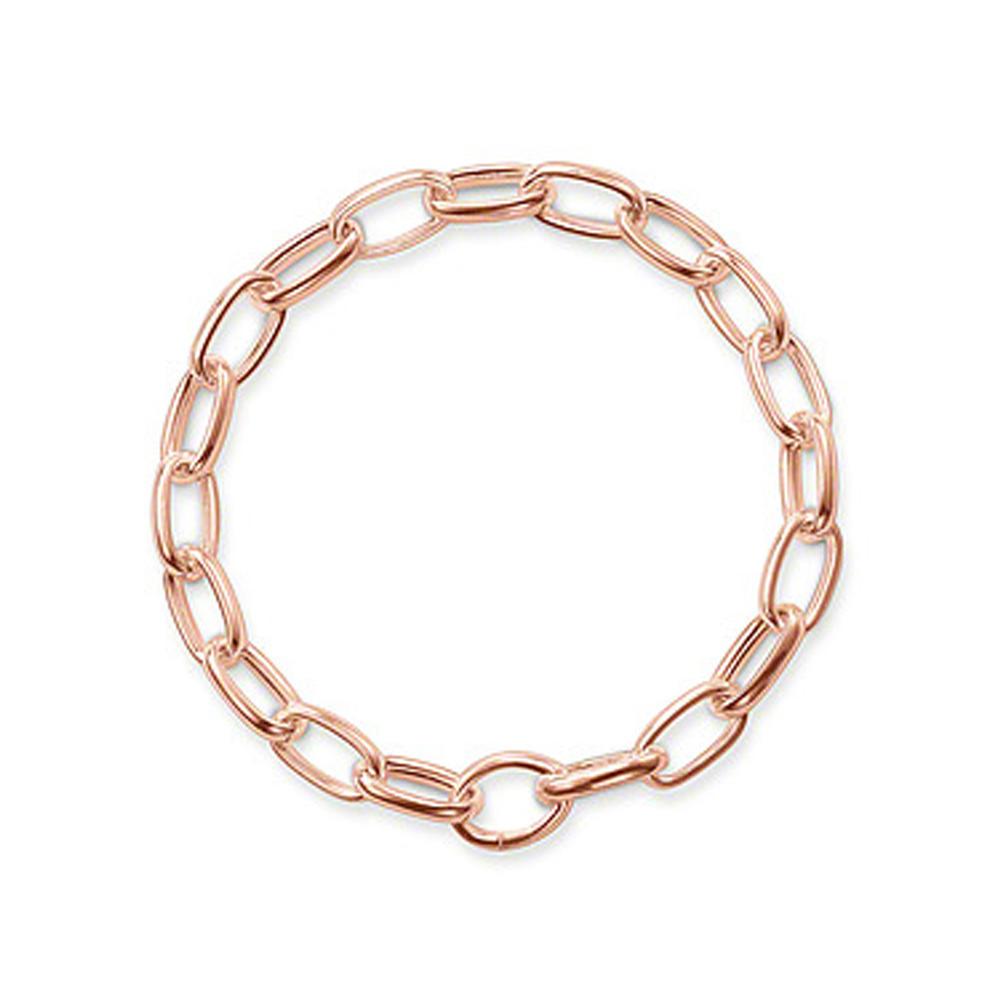 Fashion silver chain design couples love bracelet