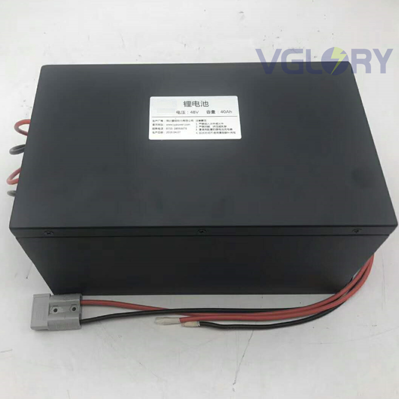 Well run under extreme temperature forklift lithium battery 48v 50ah