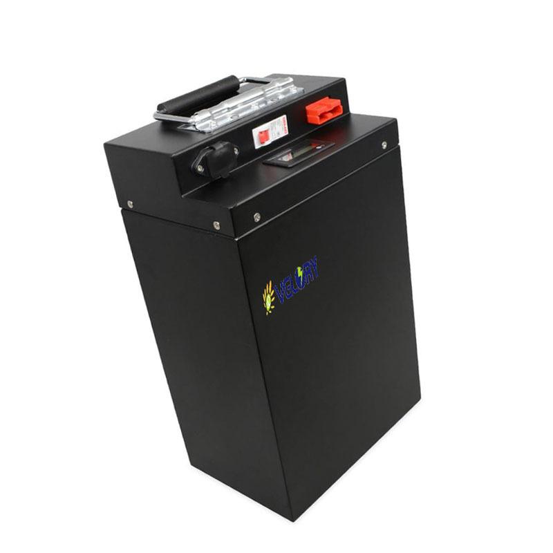 Intelligent management system electric scooter battery 48v 90ah 80ah 70ah