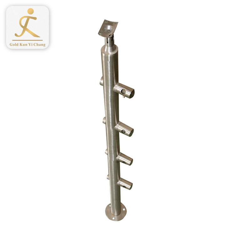 Stainless steel railing handrail baluster newel post 304/316 balcony staircase porch railing columns
