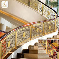decorative Indoor curved stainless steel baluster stair post customized factory stainless steel railing balustrade