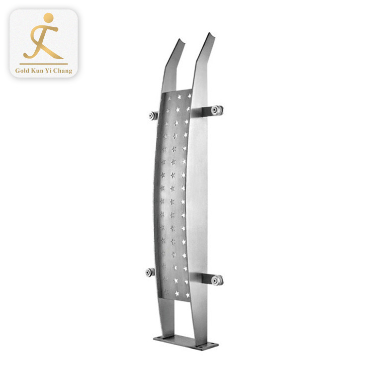 shopping mall interior stainless steel stair railing kits cost 201/304/316 stainless steel staircases handrails design