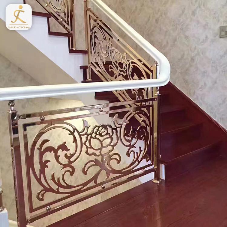 custom design matt finish stainless steel railing balustrades for internal stairs and decks