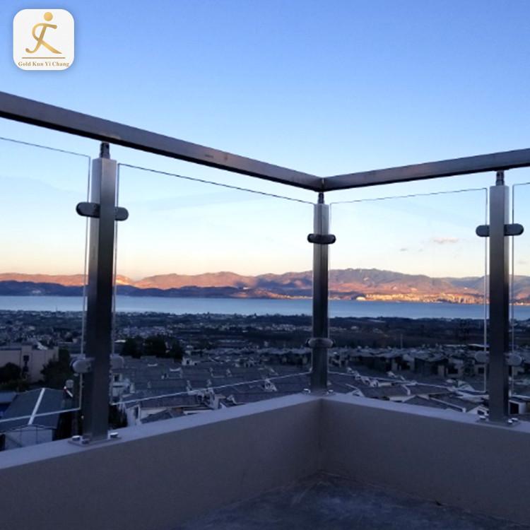 stainless inox stair pillars design ss glass stair railing pillars balcony protective stainless steel stair post